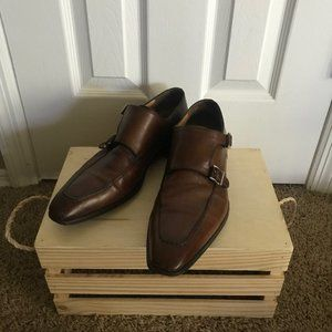 Magnanni Double Monk Strap Dress Shoes